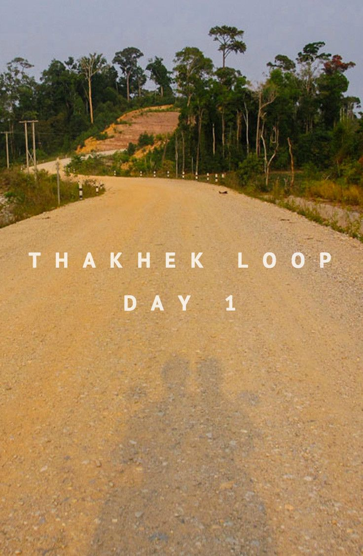 Thakhek Loop: 3 day motorbike adventure in Laos. Day 1 Itinerary.
