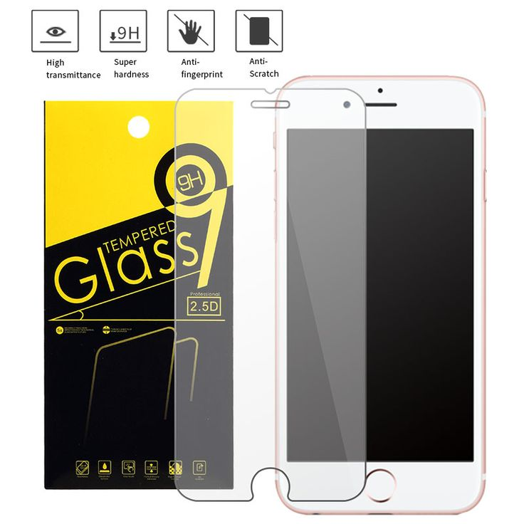 Screen Protectors Retail Package Tempered Glass For iphone 6s 6 Toughened Protective screen prot For iphone 5s 5 4s 6 6s 7 7 plus Screen Protector ** Locate the offer simply by clicking the image