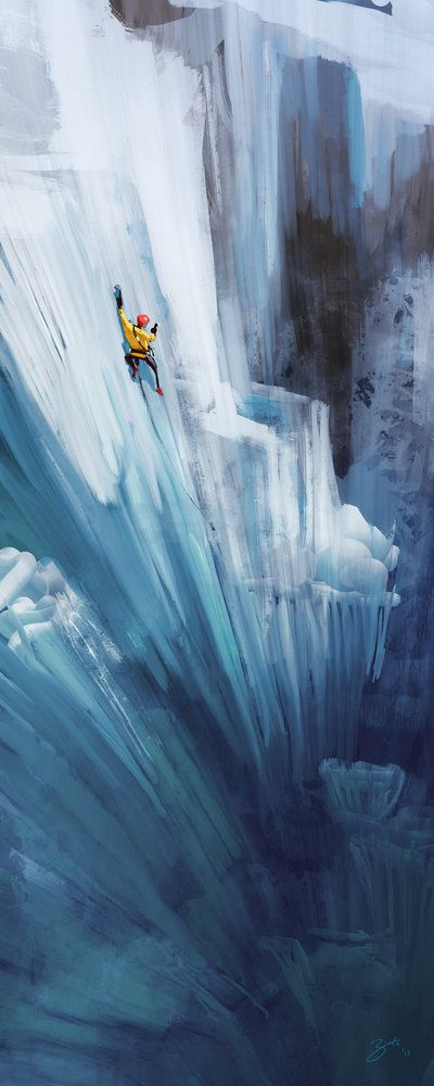 #coaching is making the unreachable possible. Ice Climber by GorosArt.deviantart.com on @deviantART