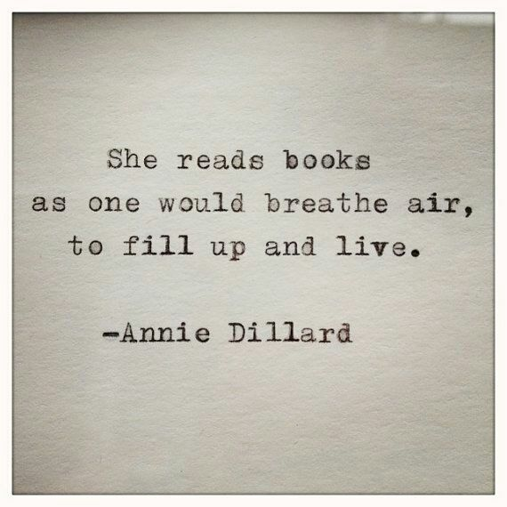 I am a reader and I have lived a thousand lives