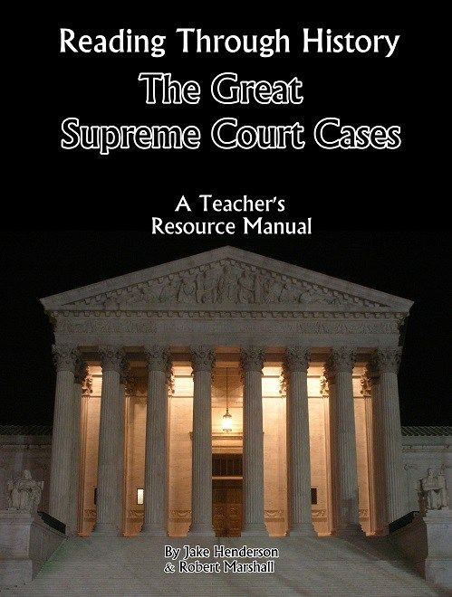 The Great Supreme Court Cases workbook