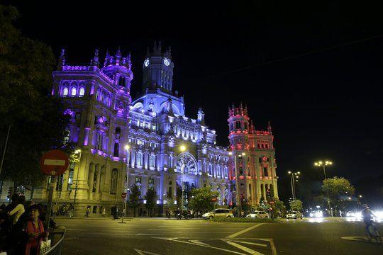Le Palais des Communications, à Madrid