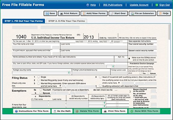 Free Online Tax Preparation Software for Small Business