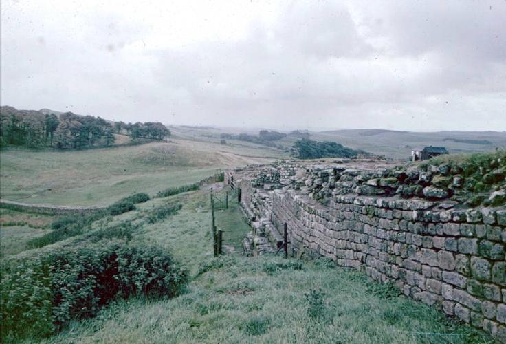 Haidrain wall near Carlisle England