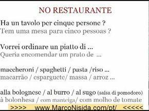 Curso de Italiano Gratis 4 para Brasileiros e Portugueses