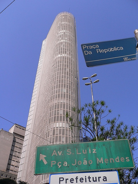 Edifício Terraço Itália - Sao Paulo, Brasil
