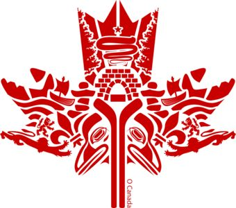 Canada Red T Shirt Design From Wordans Canadiana In