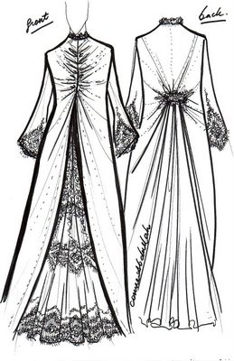 1001 Arabesque: Wedding Abaya Design