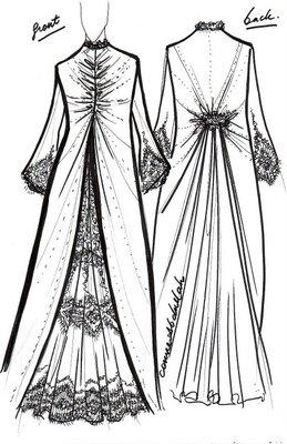 1001 Arabesque: Wedding Abaya Design