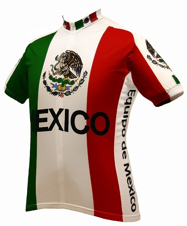 a0c633b3ab8 Team Mexico Cycling Jersey with Free Shipping