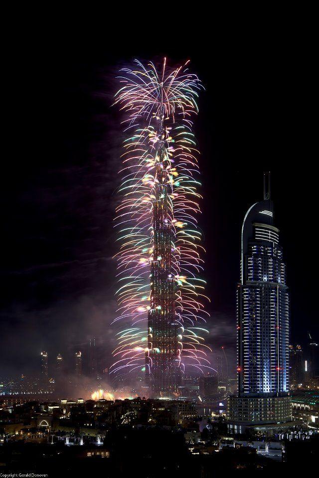 New Years Fireworks from #Dubai Getaway VIPsAccess.com #Luxury #Travel   http://pinterest.com/ahaishopping/