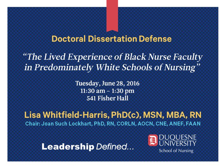 Defense Doctoral Dissertation