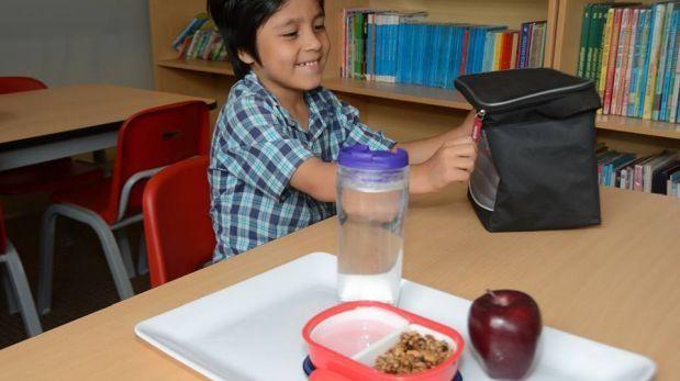 Loncheras para que niños no sufran golpe de calor en el colegio