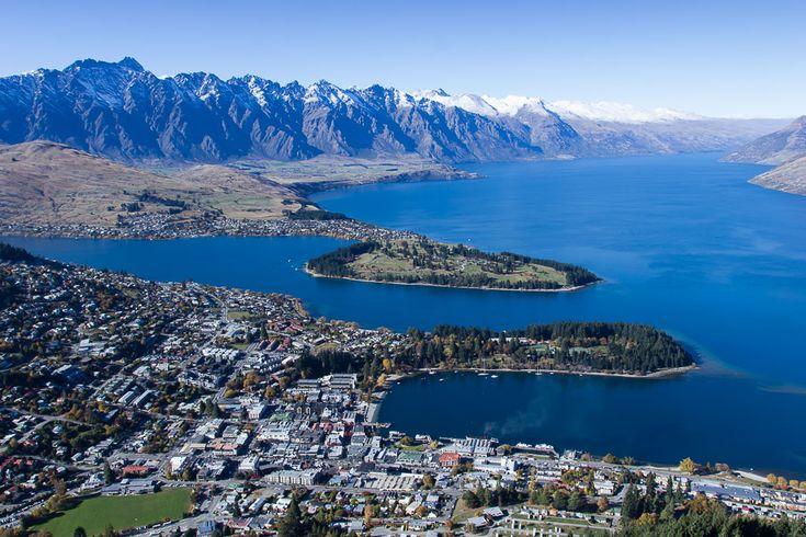 Artikel: Wandern in Queenstown Neuseeland Sehenswürdigkeiten Highlights Neuseeland Wanderung - Bild: Aussicht vom Bobs Peak#reiseberichteneuseeland #neuseelandsüdinsel #sehenswürigkeitenneuseeland #newzealand #neuseelandbilder #neuseelandsüdinsel #neuseelandqueenstown