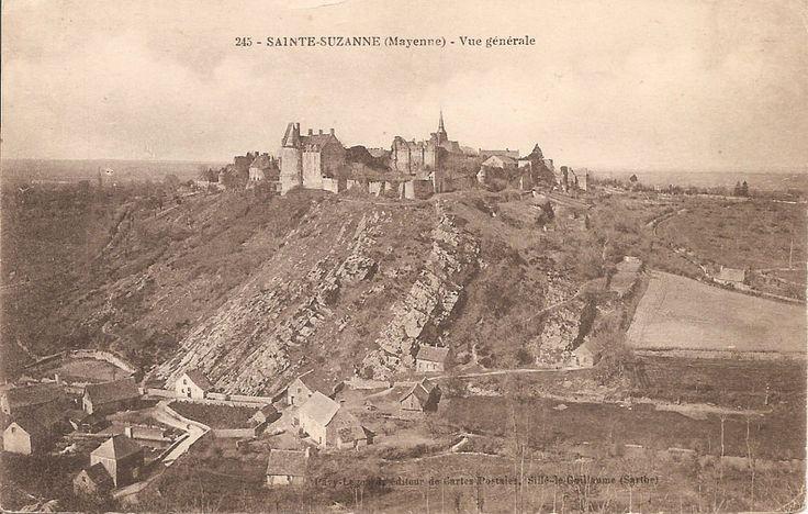 Sainte Suzanne - Vue générale