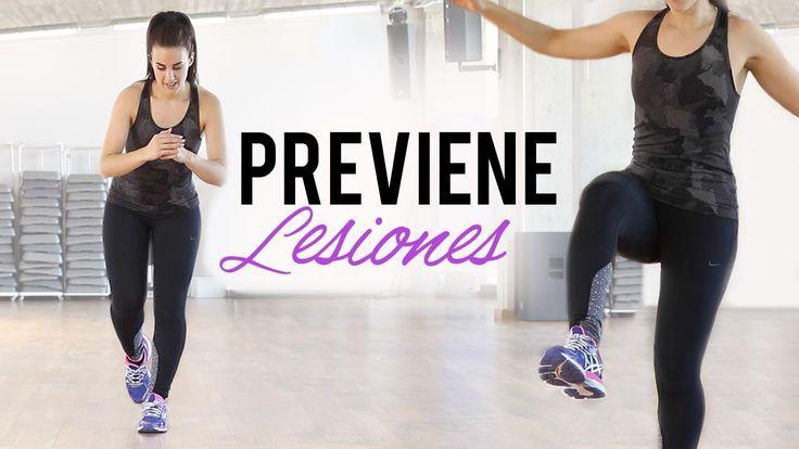 Fortalece tobillos y rodillas para prevenir lesiones