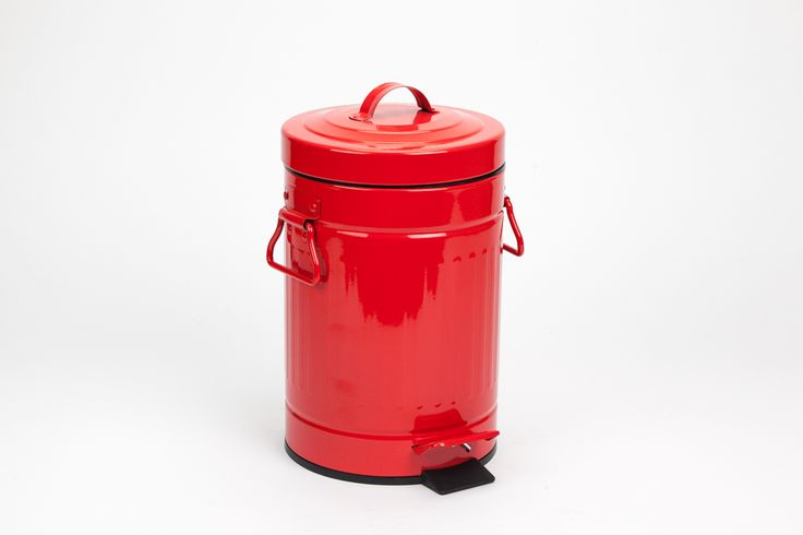 Caixote Retro Vermelho | A Loja do Gato Preto | #alojadogatopreto | #shoponline | referência 78359141
