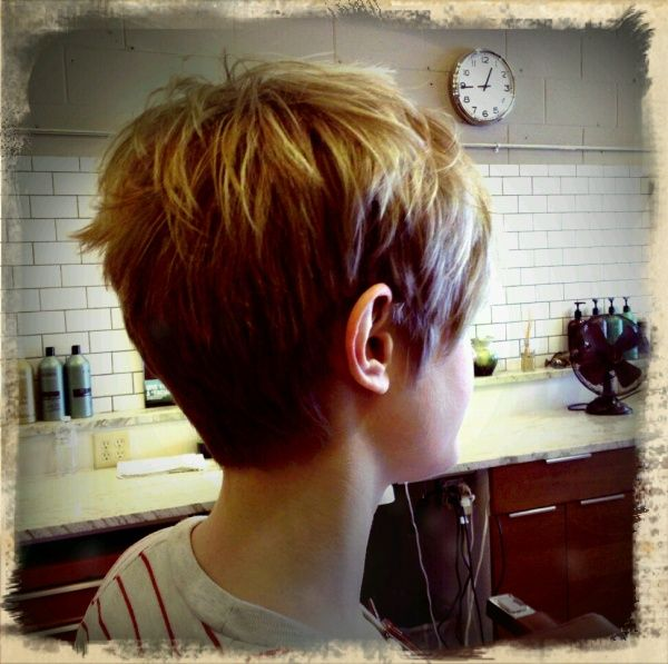 Back View Pixie And Gorgeous Hair Pinterest Rear