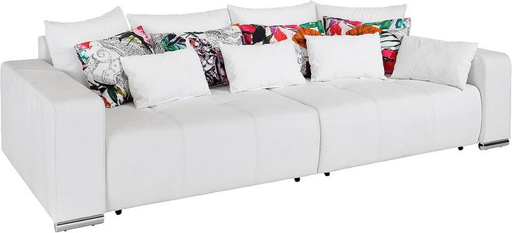 Big-Sofa, mit Bettfunktion