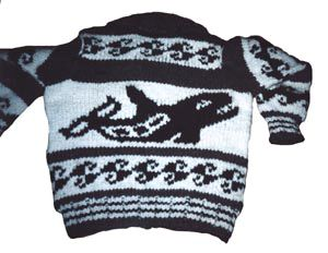 Waterborne - A Live-Aboard Blog: COWICHAN SWEATER CELEBRATION