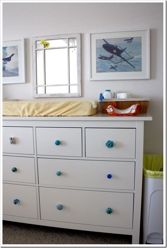 ikea changing table and gdiaper post idea for storys nursery