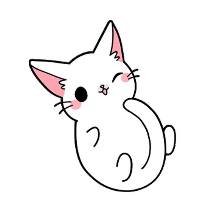 Cute Sit Cat Yang Kitten Drawing Kitty Drawing Kitten Drawing