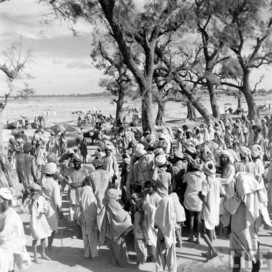 Mass migration and exchange of refugees between the newly found India and Pakistan.