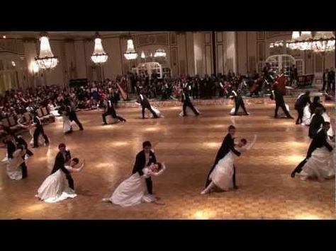 The Stanford Viennese Ball Opening Committee waltzes to Künstlerleben, or Artists' Life, op. 316 , by Johann Strauss Jr. Choreography by Joachim De Lombaert ...