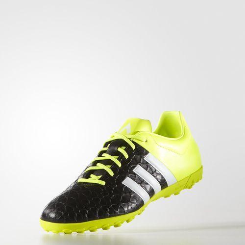 adidas Zapatos de Fútbol Ace 15.4 Césped Artificial - Black  a386070c3927c