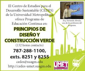 Cursos del Centro de Estudios para el Desarrollo Sustentable (CEDES)