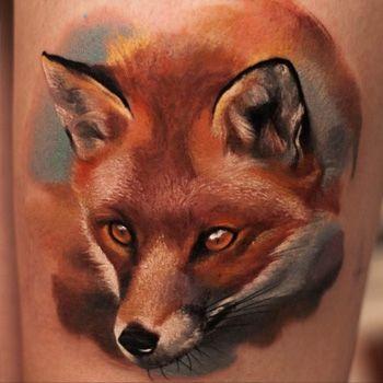 Fox Tattoo Meanings | iTattooDesigns.com