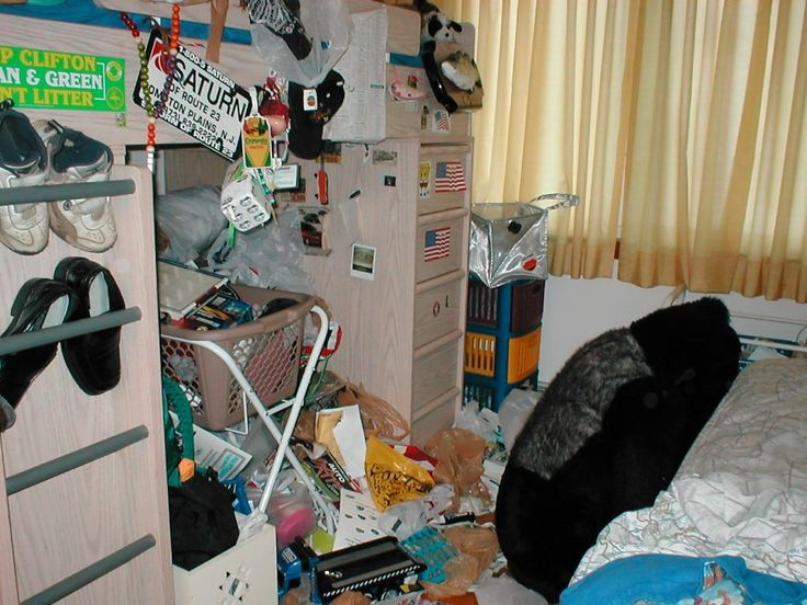 It Stages Messy Teen Rooms 82