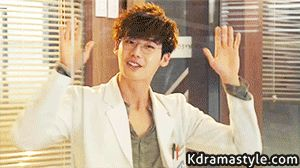 "Lee Jong Suk in ""Doctor Stranger"" Episode 8.  SO. FREAKING. CUTE."