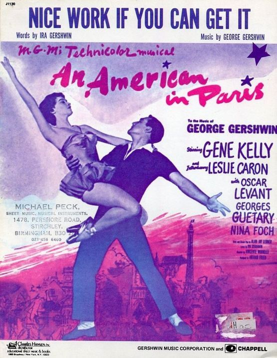 4 | Nice Work if you can Get It - Gene Kelly -