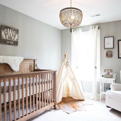 Wouldn't you love to relax in this great boho #nursery.