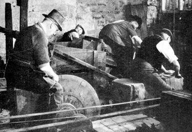 Demonstration of Grinding at Shepherd Wheel, Whiteley ...