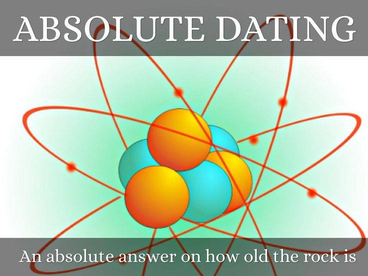 how are relative dating and radiometric dating used by scientists Absolute ages of rocks index fossils and superposition are effective methods of determining the relative age of of uranium are used for radiometric dating.