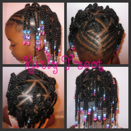 cornrows and beads