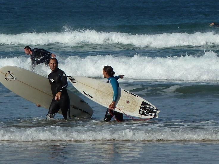 surf en Zarautz