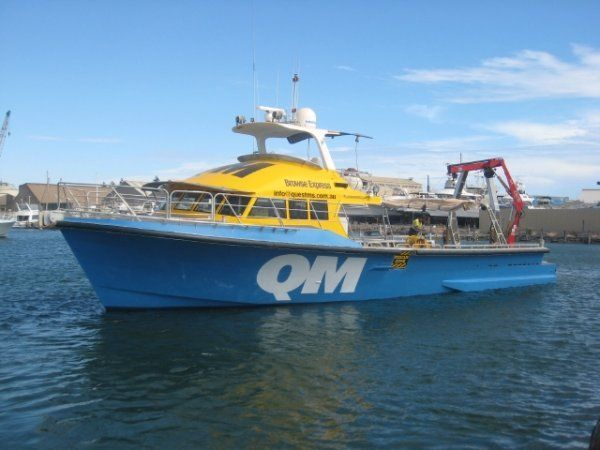 SN 714 - a GBB Aluminium Twin Screw Charter Boat - Used & New Commercial Boats for Sale In WA, Australia - Oceaneer Marine Brokers