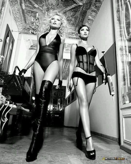 from Preston sexy assassin babes sm style