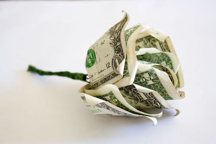 How to Make Flowers out of Dollar Bills – #bills #…
