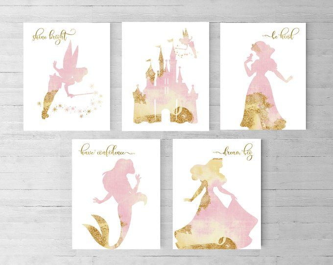 Princesse Disney Merida Ensemble de 6 Princess Nursery Disney | Etsy   – דירה
