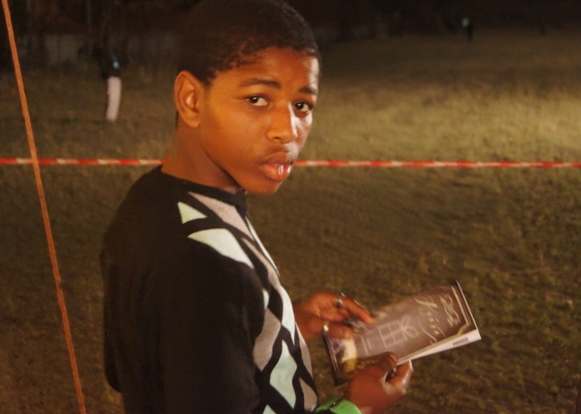 MARIANNHILL - This young man is clutching his Arise/Shine booklet after giving his life to the Lord!