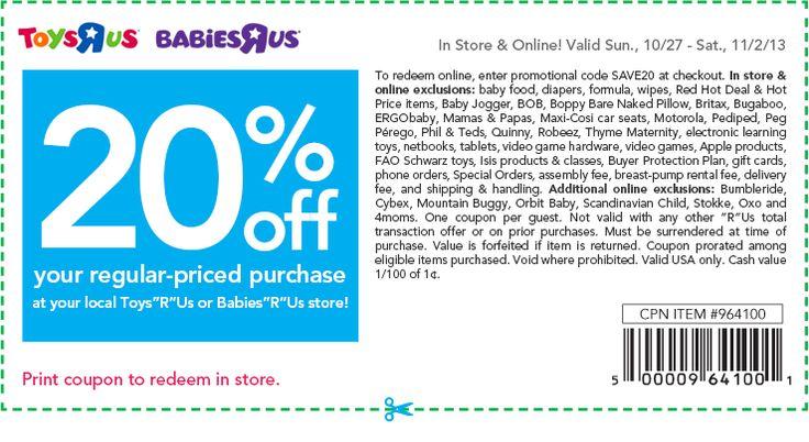 does target take toys r us coupons