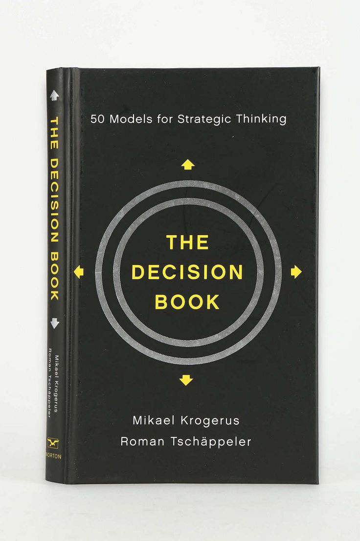 13 best books images on pinterest book lists playlists and the decision book 50 models for strategic thinking by mikael krogerus roman tschppeler fandeluxe Gallery