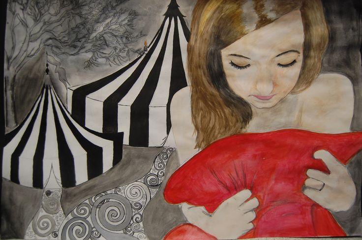 Ellie Kirkup, GCSE Art, External Assignment, Silverdale school, 2013