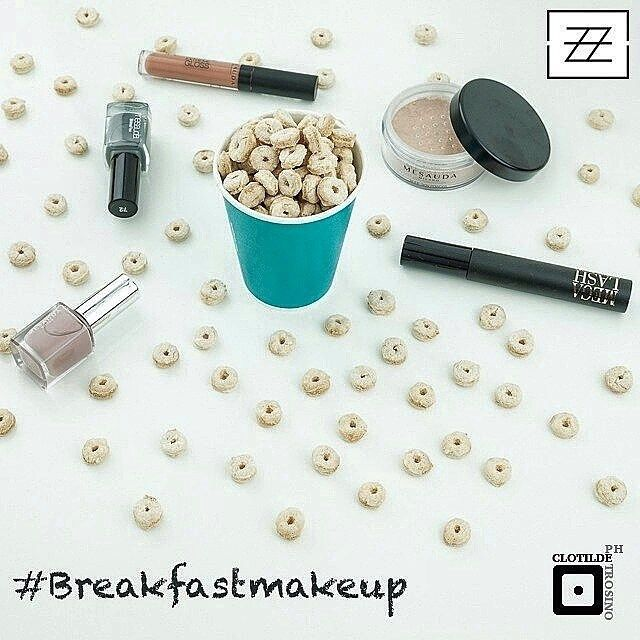 #breakfastmakeup inspired by #mesaudamilano, #minimalphotography by @clotildeph and makeup by me