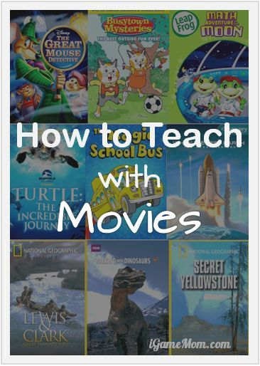 With winter break approaching, it is good time to catch up with some good movies with kids. How to turn movie/TV time into learning time? These are very helpful tips.