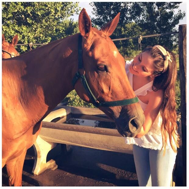 Taliana and horse